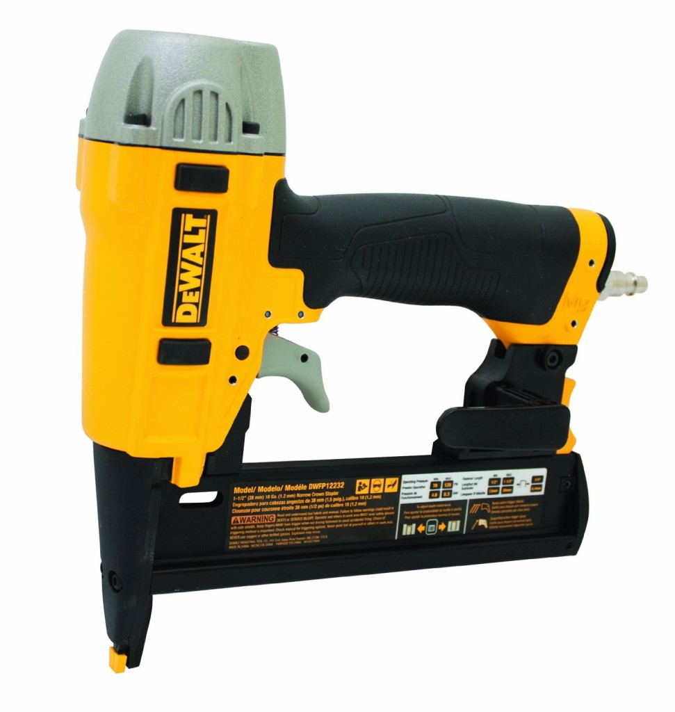 DEWALT DWFP12232 18-Gauge Narrow Crown Stapler Kit
