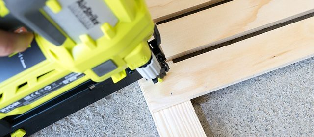 nailer being on wooden frame